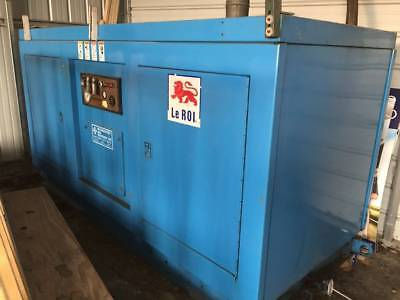 Leroi Dresser 100SS rotary screw air compressor.