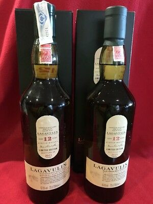 1+1 Whisky Lagavulin Limited Edition 12 Years 2011 + 2015