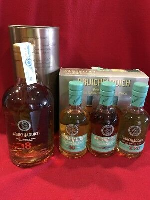 1+1 Whisky Bruichladdich 18 Years + First Edition Wee Laddie Tasting Pack 3x20