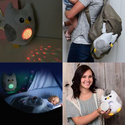 Baby Sleep Aid Medicine Sound Machine Owl Night Light Help Toddlers Relax Gift