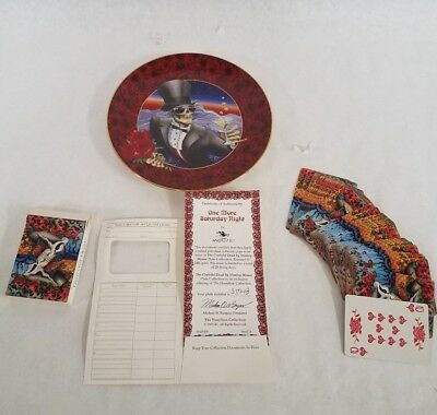 Grateful Dead One More Saturday Night Hamilton Collector Plate By Stanley Mouse