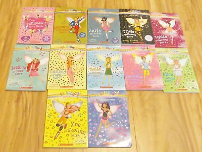 Lot Of 12 Kid's Paperback Chapter Books Rainbow Magic By Daisy Meadows
