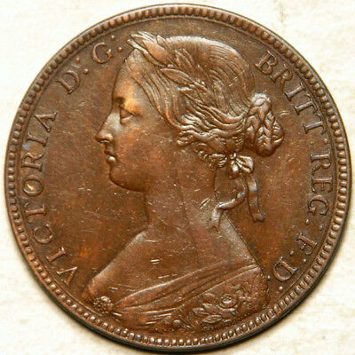 Great Britain 1 Penny 1860