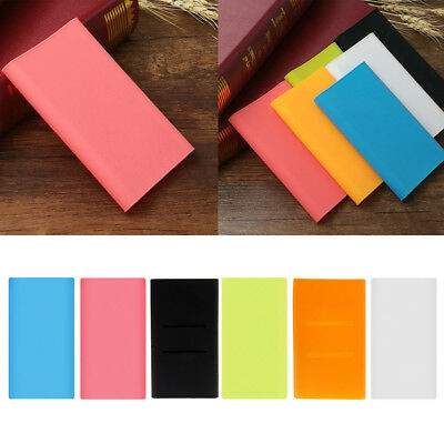 Silicone Sleeve Protector Case Skin Cover Bag For Xiaomi 10000mAh Power Bank 2