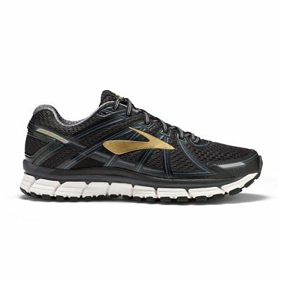 Mens Brooks Adrenaline GTS 17 - Black, Anthracite & Gold