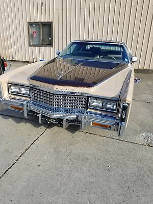 1978 Cadillac Eldorado  1395 original  miles mint all electric windows + sunroof...classic mint museum