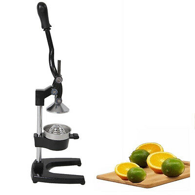 Orange Juice Hand Press Commercial Pro Manual Citrus Fruit Lemon Juicer Squeezer