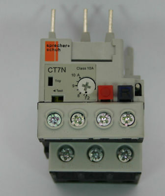 Sprecher + Schuh CT7N-23-C10 Thermal Overlay Relay