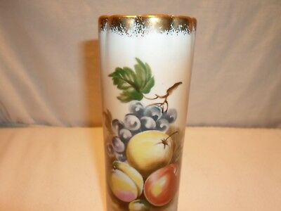 Vintage Ceramic Fruit Wall Pocket Collectible