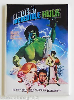 Bride of the Incredible Hulk FRIDGE MAGNET (2 x 3 inches) movie poster tv show