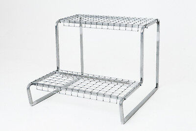 Plant Stand (steel outdoor) - 2 shelf flat pack GS model. Heavy duty Galvanised.