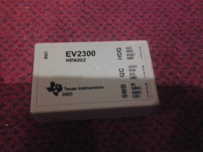 TI Texas instruments hpa002 ev2300 usb battery evaluator interface device tool