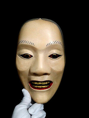 Japanese Female Noh mask Gigku Kabuki Demon mask