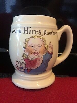 "Vintage ""Drink Hires Root Beer"" Mug Cup"