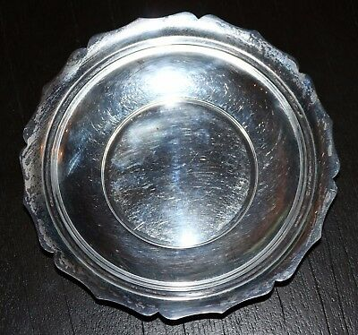 1930 Richard Dimes Solid Sterling Silver 6.5 Inch Bowl 127 GRAMS