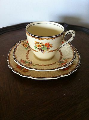 Myott Vintage Cup Saucer And Plate