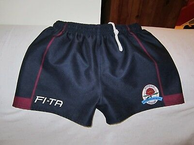 Petersham Australia Juniors Rugby Shorts Size 16
