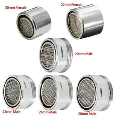 Kitchen Bathroom Faucet Male Female Chrome Tap Aerator-spout end diffuser filter