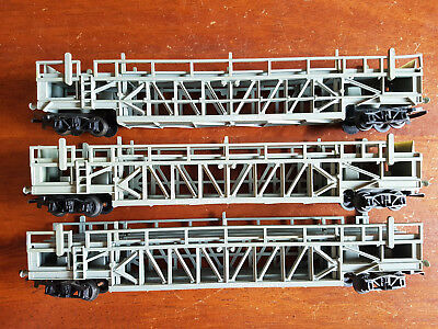 Triang Tri-Ang R342 Car Carriers X3 Fair/good Condition Unboxed Oo Gauge(Bt)
