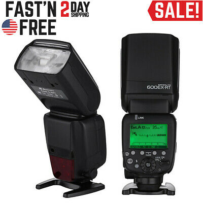 600EX-RT GN60 HSS 1/8000s Wireless Flash Speedlite TTL II Master for Canon DSLR