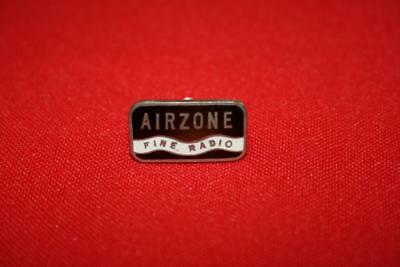 Airzone Fine Radio Badge. Metal Nos/reproduction