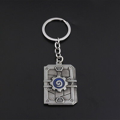 Metal Game Hearth Stone Key Ring Heroes Of Warcraft Key Chain Keyfob