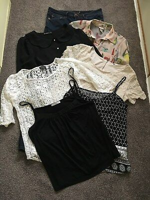 Women's (7 Items) One Jeans 12S / Five Tops Size 12
