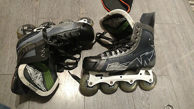 Mission Inhaler AC7 inline Hockey Skates UK10.5