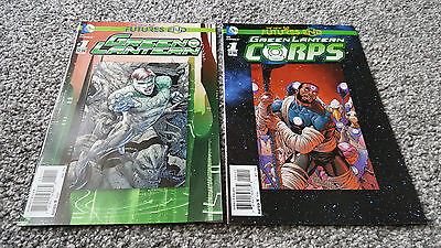 The New 52 Futures End: Green Lantern #1 + Green Lantern Corps #1 (2014) Dc
