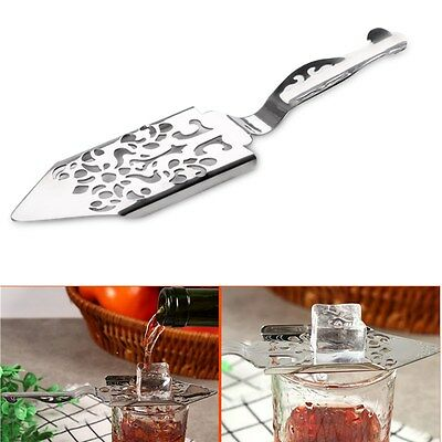 1Pc Stainless Steel Absinthe Sugar Spoon Cocktail Utensils Home Bar Bitter Scoop