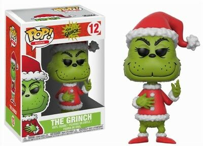 Santa Grinch The Grinch Dr. Seuss Weihnachten POP! Books #12 Vinyl Figur Funko