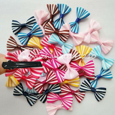 50pcs/lot Dog Hairpin Pet colorful Bow Hair Clip Puppy cat Bowknot barrette gift