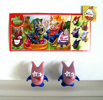 CRAZY FRIENDS Variante FS565B mit BPZ Kinder Joy 2016