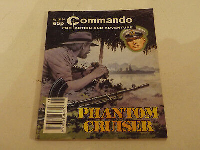 Commando War Comic Number 3184!,1998 Issue,v Good For Age,19 Years Old,very Rare