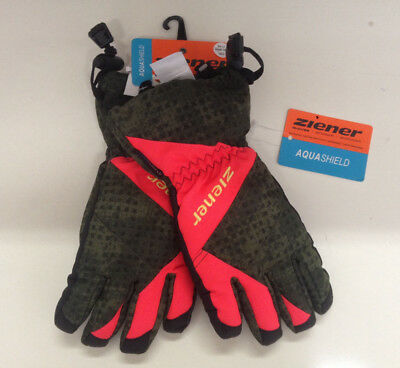 "Guanto sci bimbo junior ski gloves ZIENER mod. "" AGIL AS"""