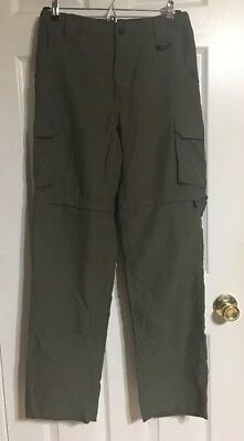 Boy Scouts Of America Switchback Uniform Pants/Shorts Olive Green Youth Large
