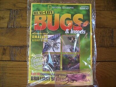 National Geographic Real-life Bugs & Insects magazine Issue 67