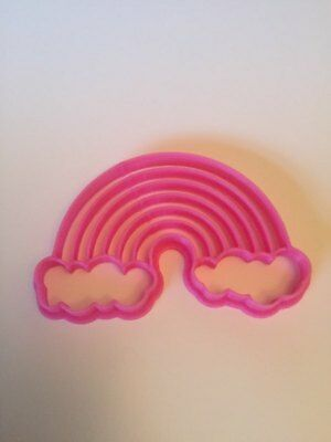 Unicorn Rainbow Cloud Cookie Cutter Cake Biscuit Pastry Baking Decor Play Doh
