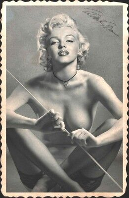 MARYLIN MONROE old Foto Poster 20 x 25 cm (8 x 10 in) glanz Autogramm Repro