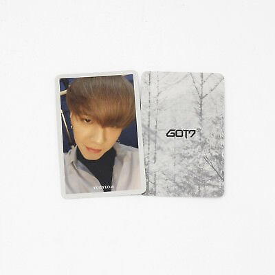 [GOT7] 1st 7 for 7 Present Edition Album Official Photocard / Selfie - YUGYEOM
