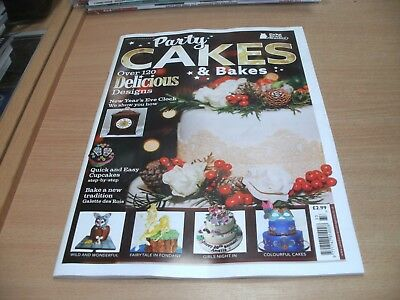 Cake Craft Guide magazine #33 2017 Party Cakes & Bakes: 120+ Designs, Tutorials