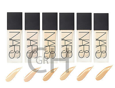 NARS All day Luminous Weightless Foundation ALL SHADES. FULL SIZE. 30ml BNIB