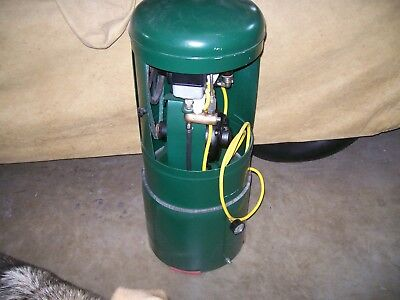 Dental Chair Air Compressor Restored Very old
