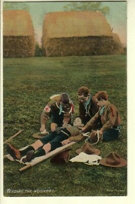 "Boy Scouts - ""Tending the Wounded"" - First Aid - National Series"