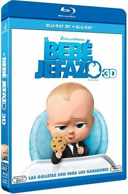 The Boss Baby (EL BEBÉ JEFAZO - BLU RAY 3D -, Spain Import, see details for lang