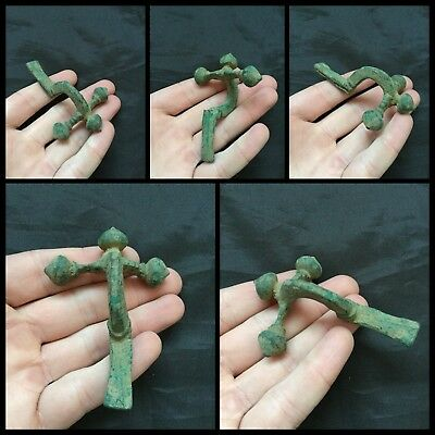 Roman Bronze Legionary Crossbow Brooch/fibula - Rare Ancient Artifact - F49