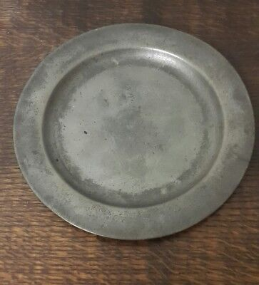 A 17th Century Pewter Plate by Jackman London