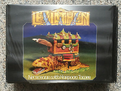 Grendel Leviathan (Fantasy): Necrosaur with Harpoon Tower (OVP) OOP selten