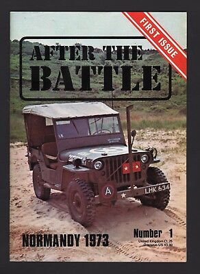 After The Battle Issue 1 Normandy 1973  - As New Condition