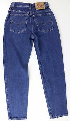 Levis Womens 550 Vintage Jeans 9 Jr. M Relaxed Fit Tapered Leg Vtg High Rise Mom
